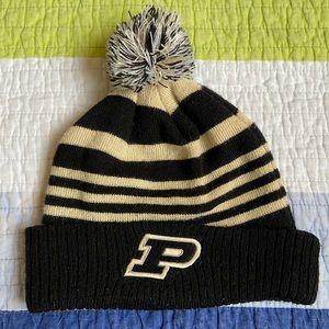 Purdue - Pom Pom Winter Hat